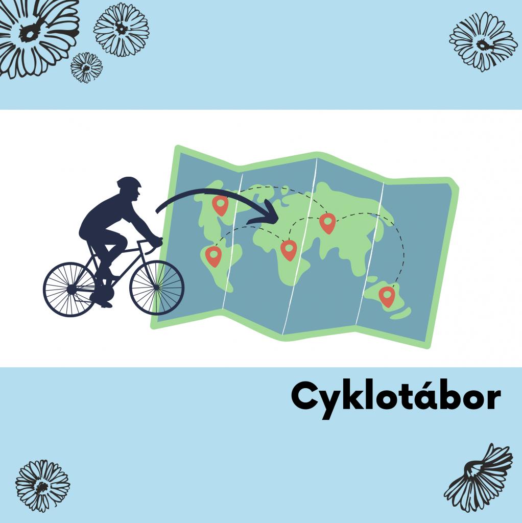 13 Cyklotábor - Kolem Zlína na kolech