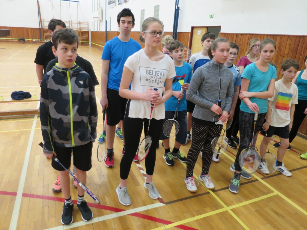 Badminton - okresní kolo smíšených družstev