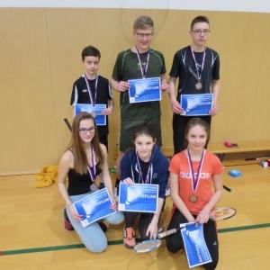 Badminton - okresní přebor jednotlivců