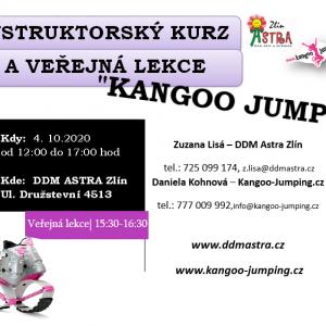 Veřejná lekce  a instruktorský kurz Kangoo jumps