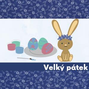 Velký pátek - Malování vajíček