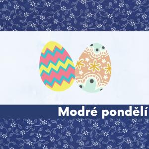 Modré pondělí - Vajíčko pro předškoláky