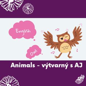 26 Animals - výtvarný s angličtinou