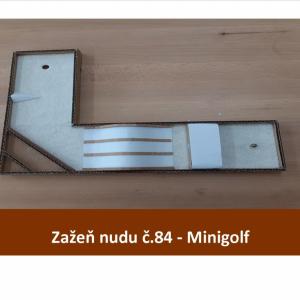 Minigolf na doma
