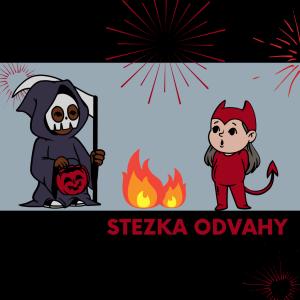 Stezka odvahy Halloweenským lesem