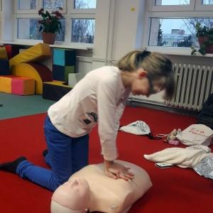 Děti se učily základům první pomoci