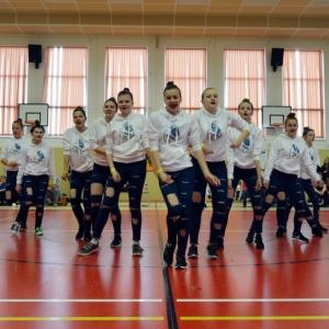 Taneční skupina Bilberries na soutěži v Němčicích