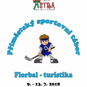 Tábory 2018 | Sportovní tábor - florbal, turistika