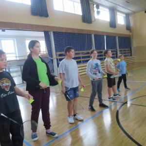 Škola badmintonu v Březolupech